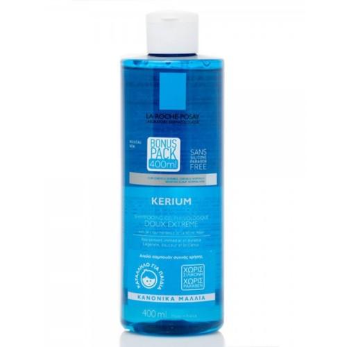 La Roche Posay Kerium Doux Extra Gentle Kανονικά Μαλλιά, Κατάλληλο και για Παιδιά - 400ml