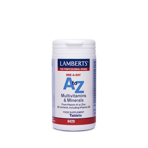 Lamberts A to Z - Πολυβιταμίνη & Μέταλλα, 30 ταμπλέτες
