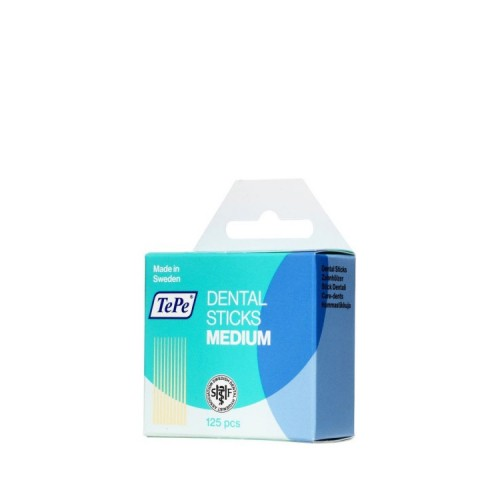 TePe Dental Sticks Medium 125 τεμάχια