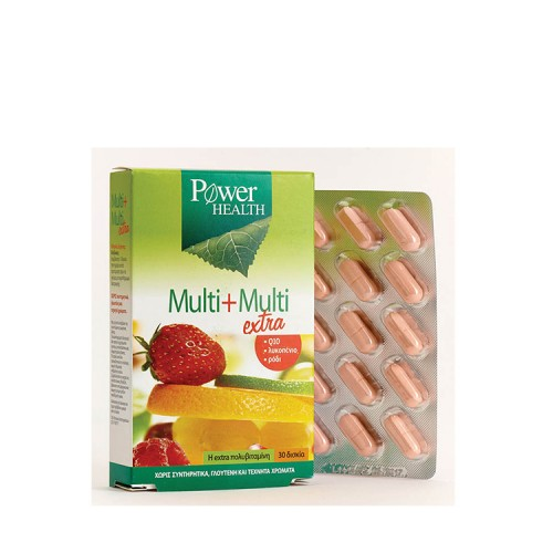 Power Health Multi + Multi 30 extra ταμπλέτες