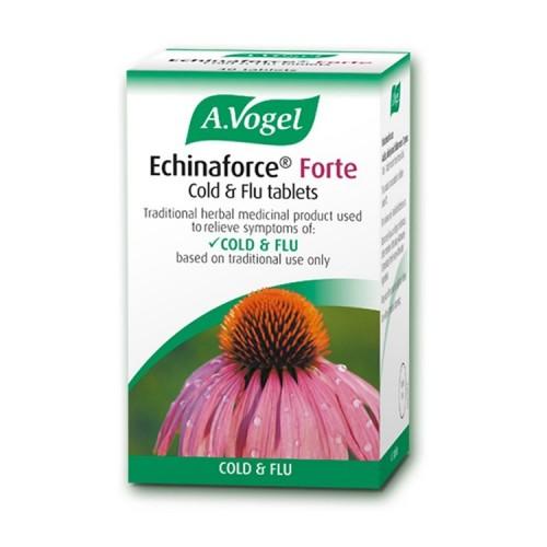 A.Vogel Echinaforce Forte Cold & Flu - Για Κρύωμα & Γρίπη, 40 ταμπλέτες