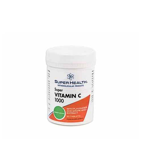 Super Health Super Vitamin C 1000, 30 ταμπλέτες