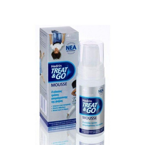 Hedrin Treat & Go Mousse, 100ml
