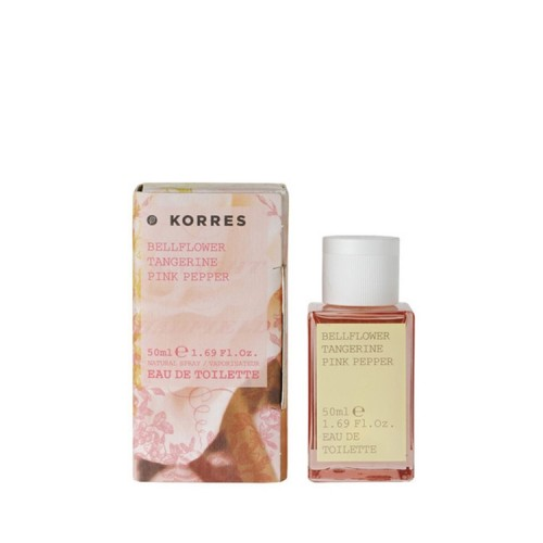Korres Γυναικείο Άρωμα Eau de Toilette Bellflower, Tangerine & Pink Pepper 50ml