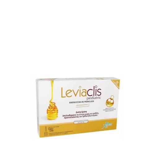 Aboca Leviaclis PEDIATRIC - Μικροκλύσμα για βρέφη & παιδιά με promelaxin, 6 μικροκλύσματα μίας χρήσης των 5gr