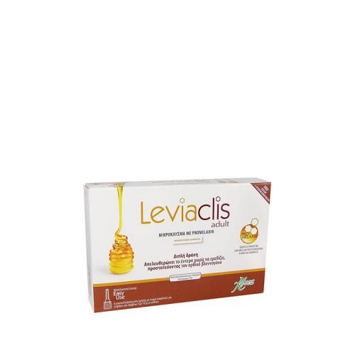 Aboca Leviaclis ADULT - Μικροκλύσμα ενηλίκων με promelaxin, 6 μικροκλύσματα μίας χρήσης των 10gr