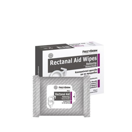 Rectanal Aid Wipes (20 τεμάχια)