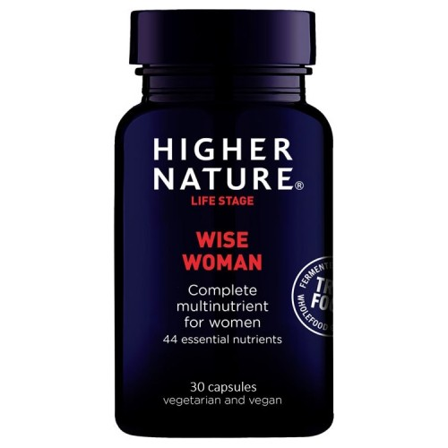 Higher Nature TRUE FOOD WISE WOMAN, 30 κάψουλες