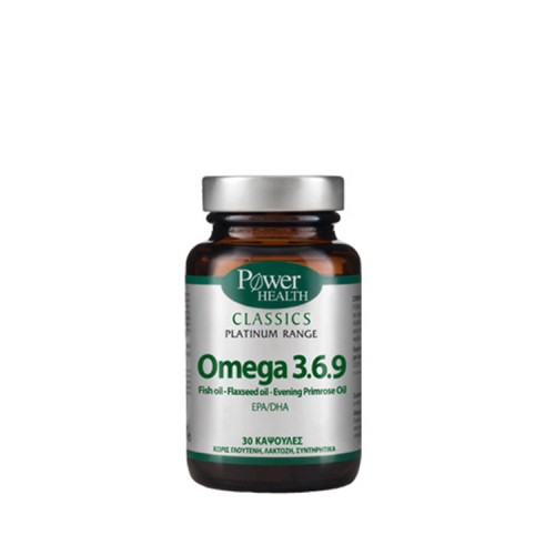 Power Health Classics Platinum - Omega 3.6.9 30s κάψουλες