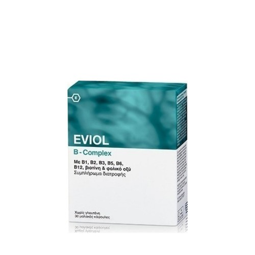 Gap Pharmaceuticals EVIOL B-Complex, 30 κάψουλες