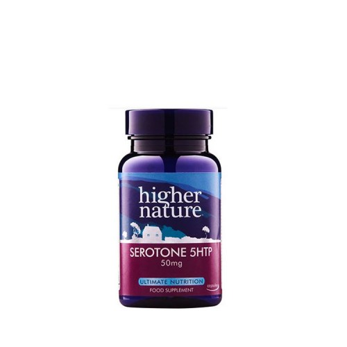 Higher Nature SEROTONE-5 HTP 50mg, 30 κάψουλες