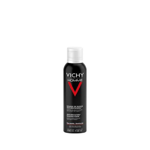 Vichy Homme Αφρός Ξυρίσματος για Ευαίσθητες Επιδερμίδες, 200ml