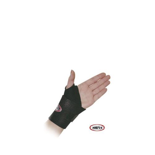 John's Wrist Strap Black Line - Επικάρπιο που δένει γύρω από τον καρπό,  Ένα μέγεθος (S-XL), 1 τεμάχιο (MPN:120123)