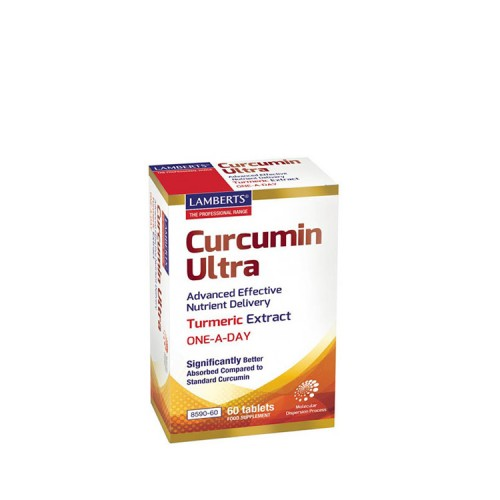 Lamberts Curcumin Ultra ONE - A - DAY, 60 ταμπλέτες