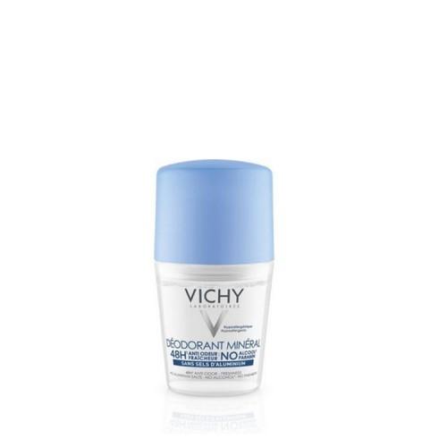 Vichy Deodorant Mineral 48h - Αποσμητικό Roll-on ΧΩΡΙΣ ΑΛΑΤΑ ΑΛΟΥΜΙΝΙΟΥ & ΑΛΚΟΟΛ, 50ml