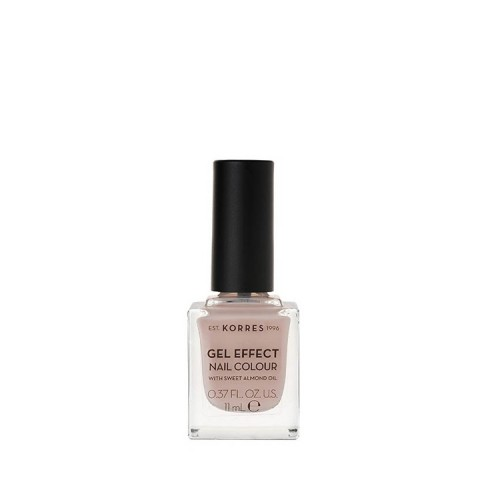 Korres Gel Effect Βερνίκι Νυχιών - Sandy Nude 31, 11ml