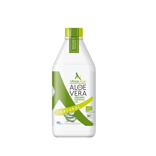 Litinas Aloe Πόσιμο Aloe Vera Gel, 1000ml - Φυσική Γεύση