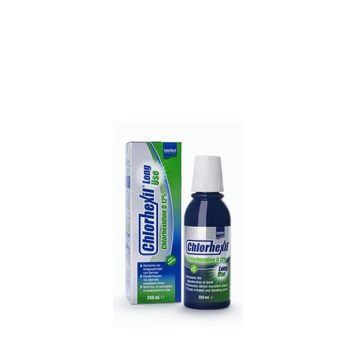 InterMed InterMed Chlorhexil 0.12% Mouthwash - Long Use, 250ml