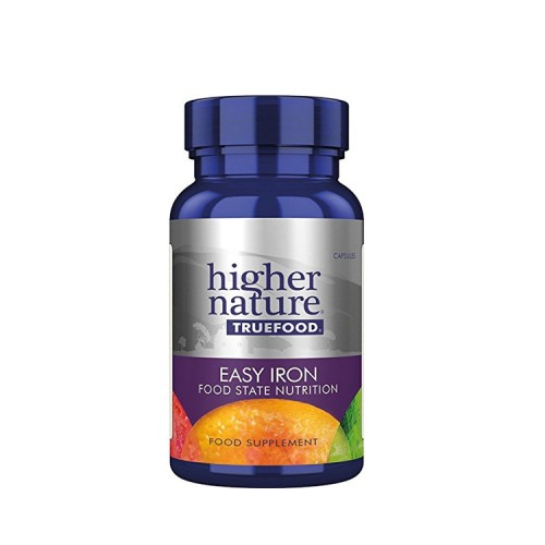 Higher Nature True Food Easy Iron, 30 κάψουλες