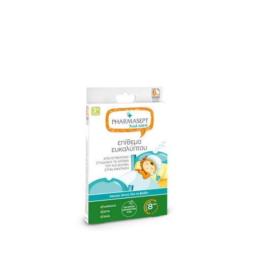 Pharmasept Kids Επιθέματα Ευκαλύπτου που βοηθούν την αναπνοή, 6 τεμάχια