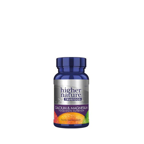 Higher Nature True Food Calcium & Magnesium, 60 ταμπλέτες