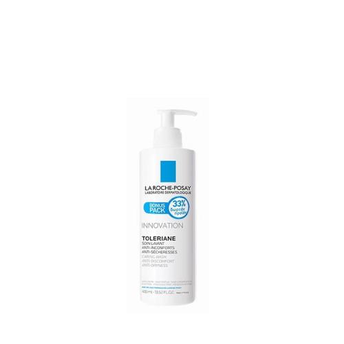 La Roche Posay Toleriane Caring Wash Καθαρισμός Προσώπου, 400ml - BONUS PACK 33% ΔΩΡΕΑΝ ΠΡΟΪΟΝ!