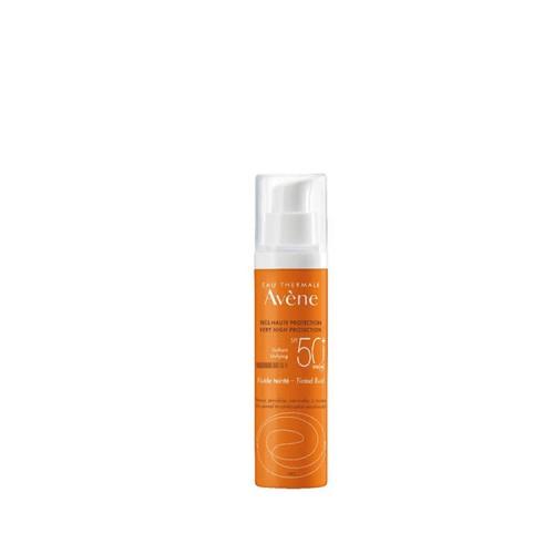 Avene Αντιηλιακή Προστασία για Πρόσωπο & Λαιμό spf50 - Με χρώμα, για Ευαίσθητο, κανονικό/μεικτό δέρμα, 50ml