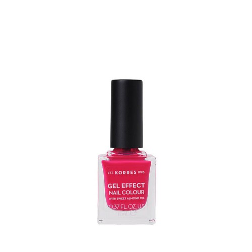 Korres Gel Effect Βερνίκι Νυχιών - Juicy Fuchsia 22, 11ml