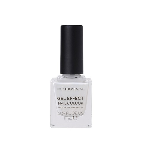 Korres Gel Effect Nail Colour No.11 Coconut Smoothie Βερνίκι Νυχιών - 11ml