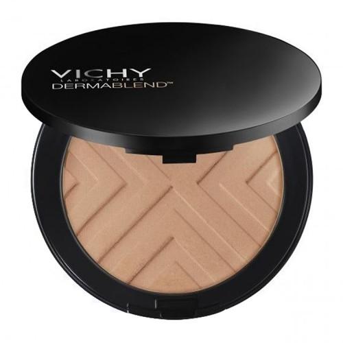 Vichy Dermablend Covermatte Make-Up No.45 Gold Υψηλής Κάλυψης Make Up σε μορφή πούδρας, για λιπαρή επιδερμίδα με τάση ακμής -  9.5gr
