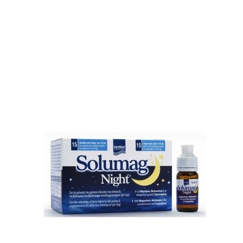 InterMed Solumag Night, 15 φιαλίδια x 10ml