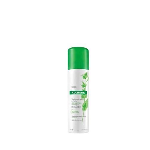 KLORANE Ξηρό Σαμπουάν με γαλάκτωμα Τσουκνίδας για Λιπαρά Μαλλιά, 150ml