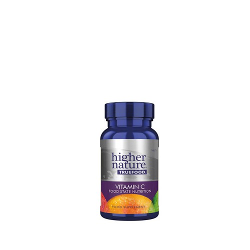 Higher Nature TRUE FOOD Vitamin C, 90 ταμπλέτες