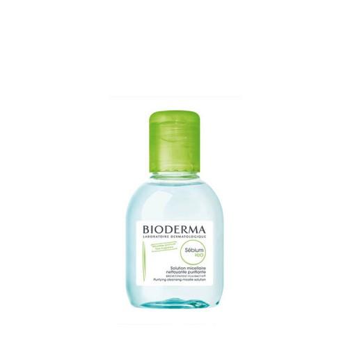 Bioderma Sebium H2O - Καθαριστικό προσώπου για μικτές ή λιπαρές επιδερμίδες, 100ml - ΣΥΣΚΕΥΑΣΙΑ ΤΑΞΙΔΙΟΥ!