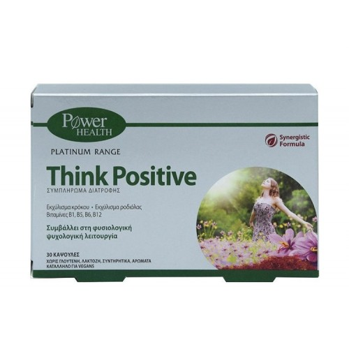Power Health Think Positive - 30 κάψουλες