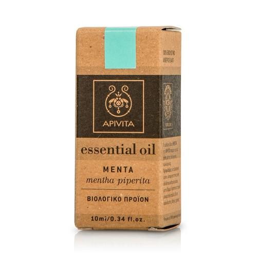 Apivita Essential Oil Peppermint - Αιθέριο Έλαιο Μέντα - 10ml