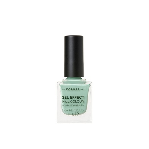 Korres Gel Effect Nail Colour Limited Edition No.35 Mint Green Βερνίκι Νυχιών Απόχρωση Φυστικί - 11ml