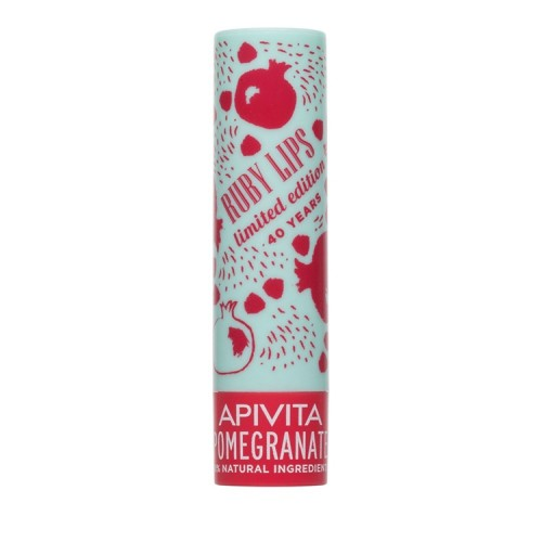 Apivita Limited Edition Lip Care με Ρόδι - 4.4gr