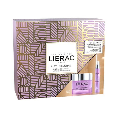 Lierac Πακέτο Προσφοράς Lift Integral Creme Lift Remodelante 50ml & Serum Lift Regard Yeux & Paupieres 15ml