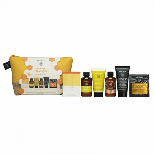 Apivita Travel Kit Mini Bee Treasures - 6 Τεμάχια