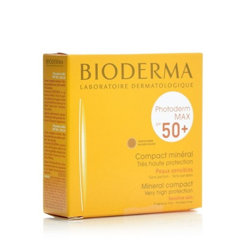 Bioderma Photoderm Max Compact Teinte Doree SPF50+ - Make Up Πούδρα - 10gr