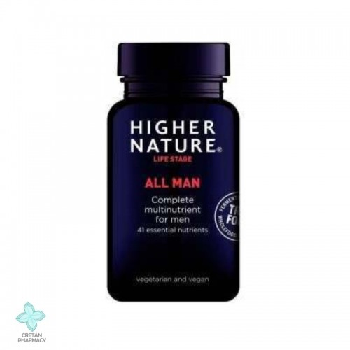 Higher Nature TRUE FOOD ALL MAN, 90 κάψουλες