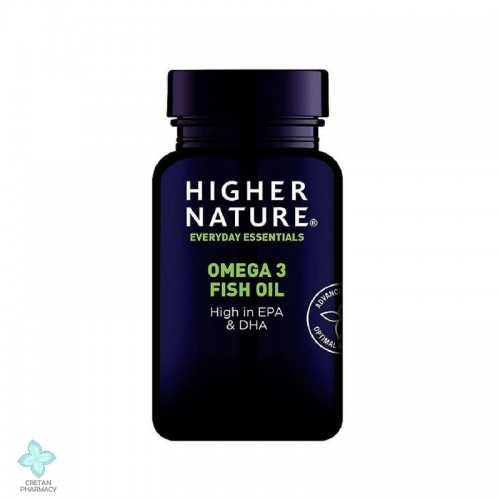 Higher Nature Omega 3 Fish Oil 1000mg, 180 κάψουλες