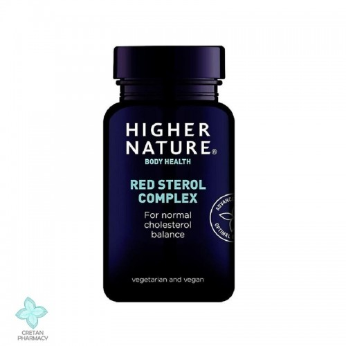 Higher Nature Red Sterol Complex, 90 ταμπλέτες
