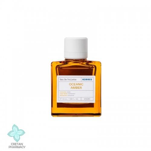 Korres Eau de Toilette Oceanic Amber, 50 mL