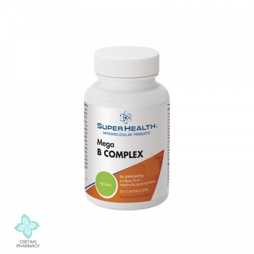 Super Health Mega B-Complex, 30 caps