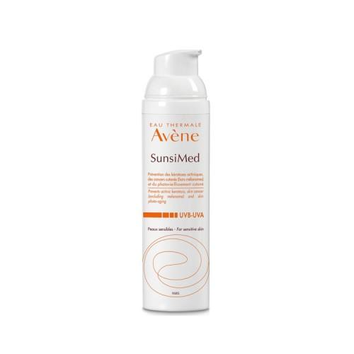 Avene SunsiMed UVB - UVA Πολύ Υψηλή Προστασία & Πρόληψη Υπερκερατώσεων για το Ευαίσθητο δέρμα, 80ml