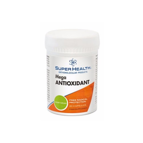 Super Health Mega Antioxidant, 30 κάψουλες