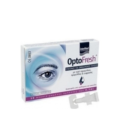 InterMed Optofresh Ophthalmic drops, 10 ampules X0,5ml