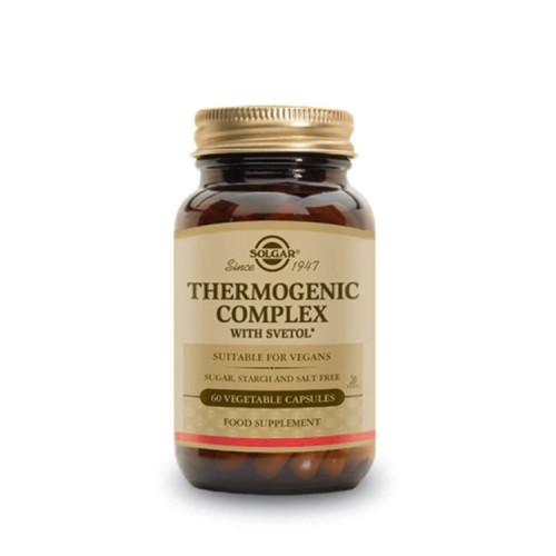 Solgar Thermogenic Complex With Svetol - 60 Vegetable Capsules